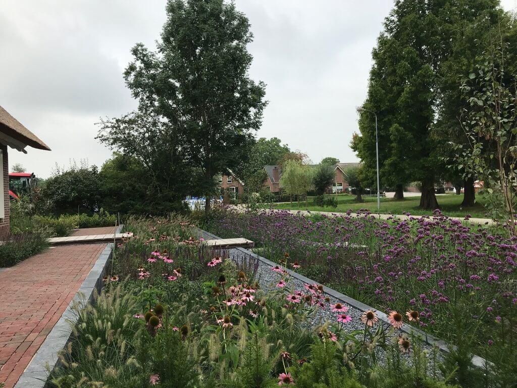 Landelijke tuin in Bruchem