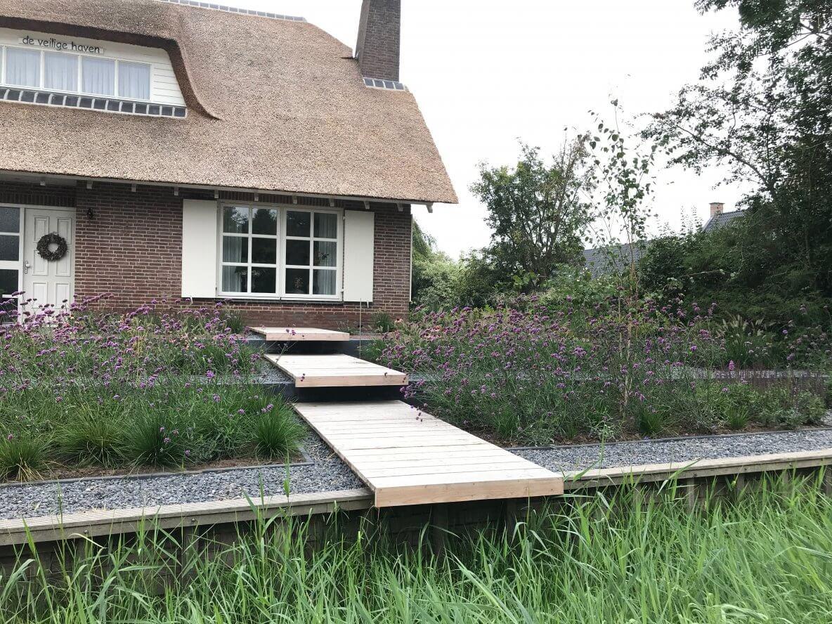 Landelijke tuin aanleggen in Bruchem